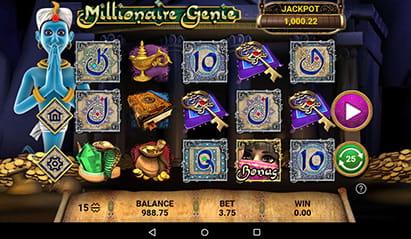 888 Casino Millionaire Gene Jackpot